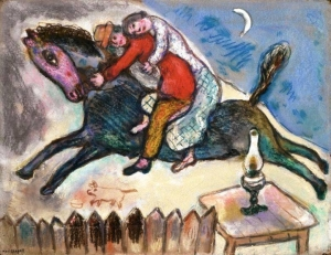 Picture: Marc Chagall: Limitless love – Boundless nomadic reality: the true essence of nomadic soul.